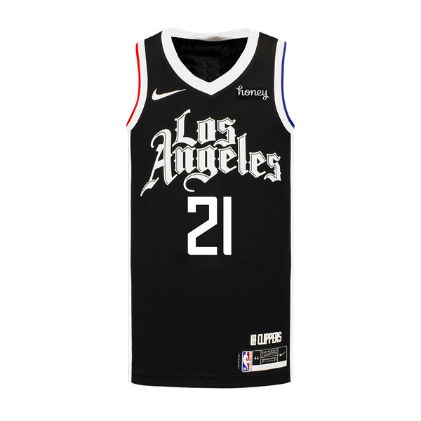 LA Clippers Patrick Beverley Nike 2020/21 Youth City Edition Swingman Jersey