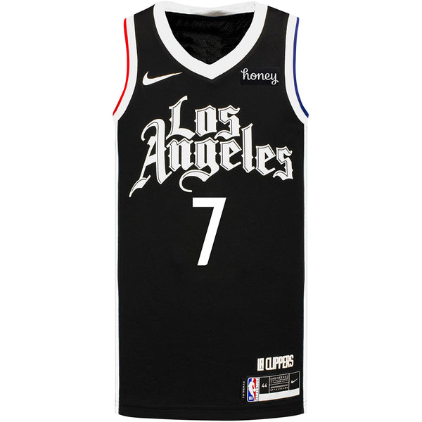 LA Clippers Amir Coffey Nike 2020/21 City Edition Swingman Jersey