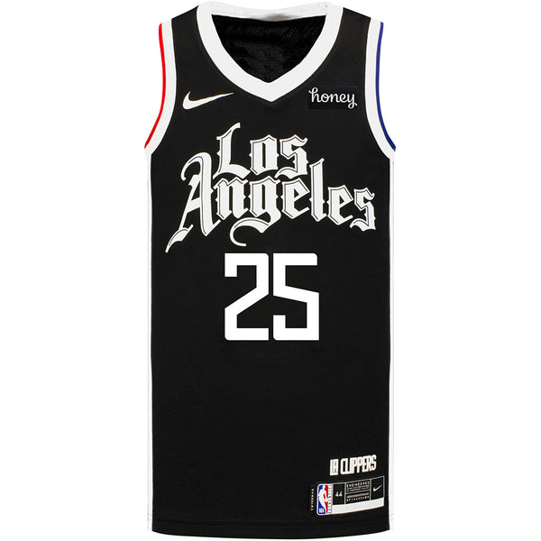 LA Clippers Mfiondu Kabengele Nike 2020/21 City Edition Swingman Jersey