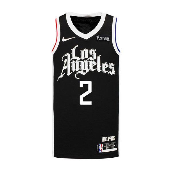 Youth Kawhi Leonard Nike 2020/21 City Edition Swingman Jersey