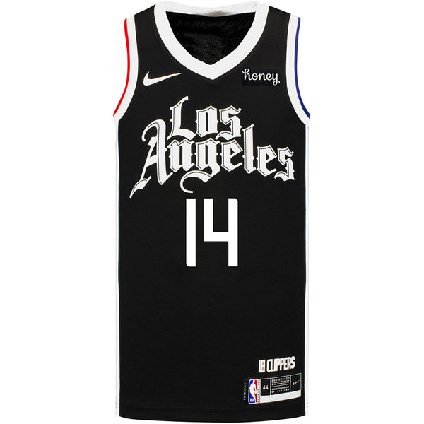 LA Clippers Terance Mann Nike 2020/21 City Edition Swingman Jersey