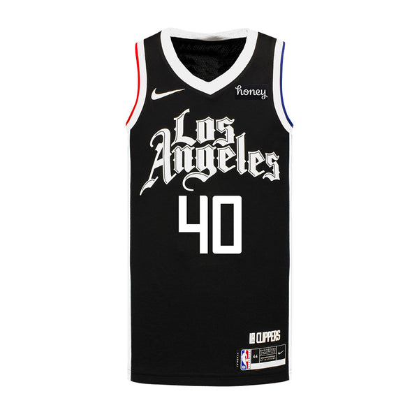 LA Clippers Ivica Zubac Nike 2020/21 Youth City Edition Swingman Jersey