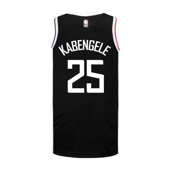 LA Clippers Mfiondu Kabengele Nike 2020/21 Youth City Edition Swingman Jersey