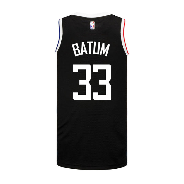 LA Clippers Nicolas Batum Nike Youth 2020/21 City Edition Swingman Jersey