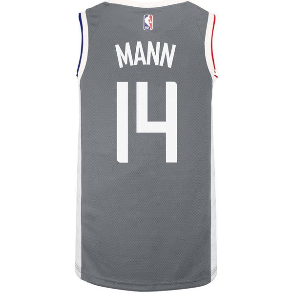 LA Clippers Terance Mann Nike 2020/21 Earned Swingman Jersey