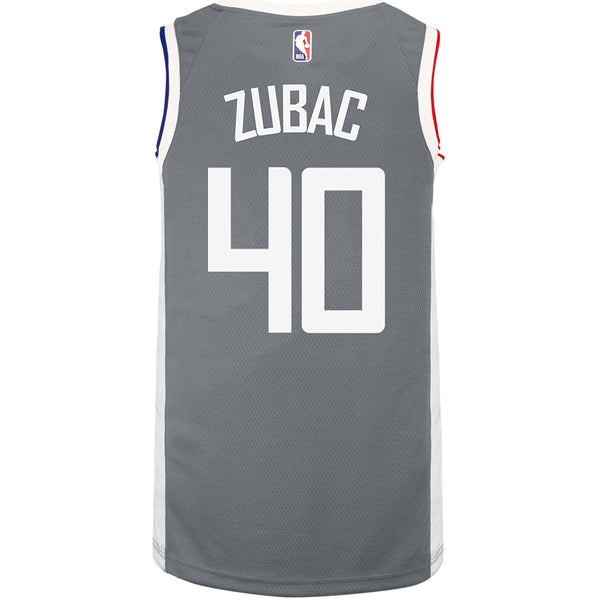 LA Clippers Ivica Zubac Nike 2020/21 Earned Swingman Jersey