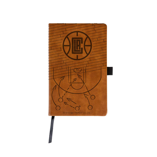 Brown Engraved Notepad