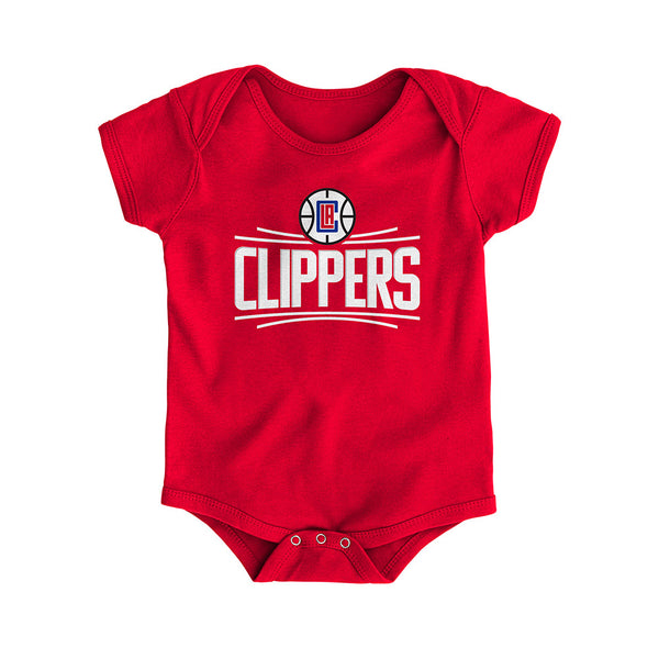 Infant Clippers Logo Onesie