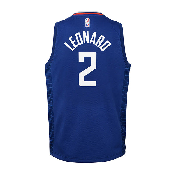 Youth Kawhi Leonard Nike Icon Edition Swingman Jersey
