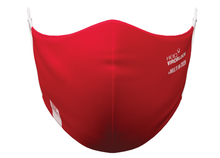 Load image into Gallery viewer, HeiQ Viroblock +Multi Hi-Tech washable masks, red, 2pcs (CH)