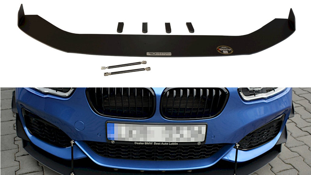 Maxton Design FRONT RACING SPLITTER V.2 BMW 1 F20/F21 M-POWER FACELIFT (2015-19)