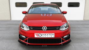 FRONT RACING SPLITTER VW POLO MK5 GTI FACELIFT (2015-2017)