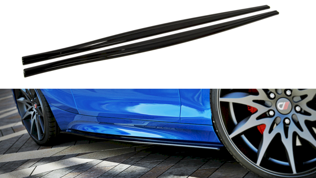 Maxton Design SIDE SKIRTS DIFFUSERS BMW 1 F20/F21 M-POWER (FACELIFT)