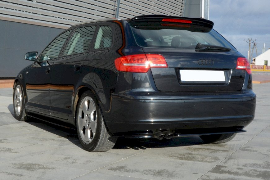 REAR SIDE SPLITTERS AUDI A3 SPORTBACK 8P/ 8P FACELIFT (2004-2013)