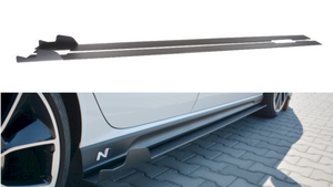 RACING SIDE SKIRTS DIFFUSERS HYUNDAI I30 MK3 N