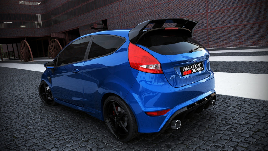 REAR BUMPER FORD FIESTA MK 7 PRE-FACELIFT & FACELIFT (FOCUS RS LOOK)