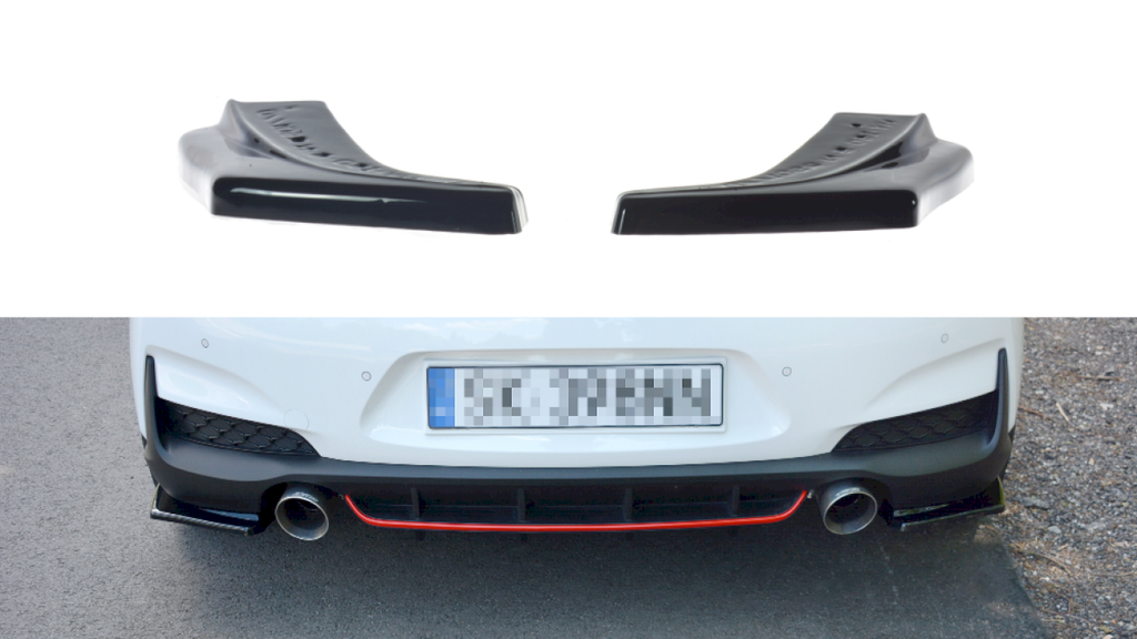 REAR SIDE SPLITTERS HYUNDAI I30 MK3 N