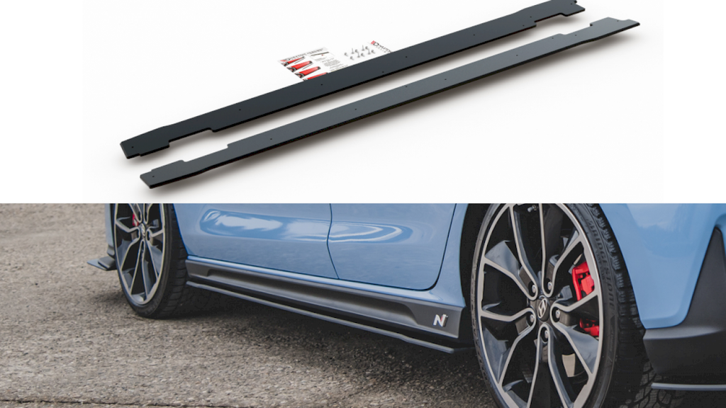 MAXTON RACING SIDE SKIRT DIFFUSERS HYUNDAI I30 N MK3 HATCHBACK/ FASTBACK (2017-)