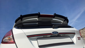 ROOF SPOILER EXTENSION FORD FIESTA MK7 ST / ZETEC S FACELIFT PRIMER PAINTED