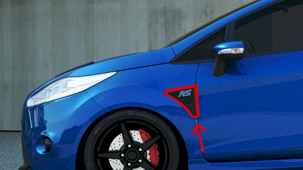 SIDE VENTS IMITATIONS FORD FIESTA MK7 - RS LOOK