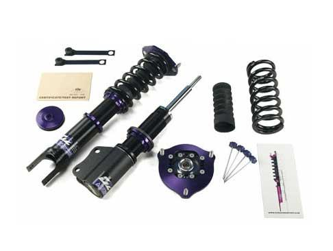 D2Racing Circuit Coilover Kit - Volkswagen GOLF MK6