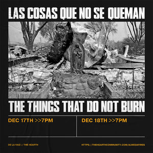 The Things That Do Not Burn (English Language)