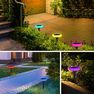 Hardoll Decorative Multi-colour LED Solar Lights for Home Outdoor Garden