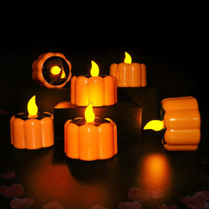Automatic Festival Decorative Solar LED Tea Lights for Home Balcony Garden
