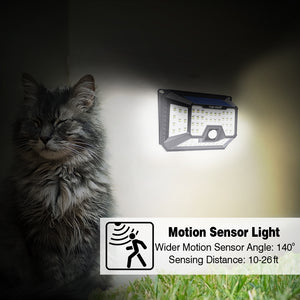 Hardoll Automatic Motion Sensor Solar Security Lights for Home Outdoor Garden
