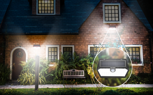 Best Solar Lights for Home Security Automatic Motion Sensor | Hardoll Enterprises