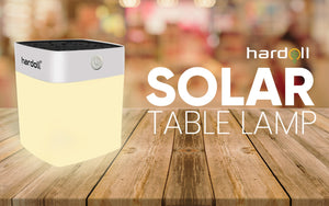 Best Solar Emergency Table Lamp for Home Garden Outdoor Camping | Hardoll Enterprises