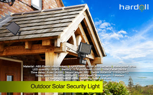 Solar 60 LED Motion Sensor Solar Light for Home Security Outdoor Garden | Hardoll Enterprises
