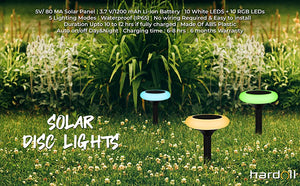 Solar Decorative Multicolour Disk Lights for Home Garden Outdoor | Hardoll Enterprises