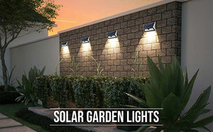 Best Waterproof LED Motion Sensor Solar Security Outdoor Light for Home | Hardoll Enterprises