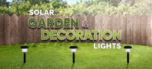 Solar Garden & Decoration Lights