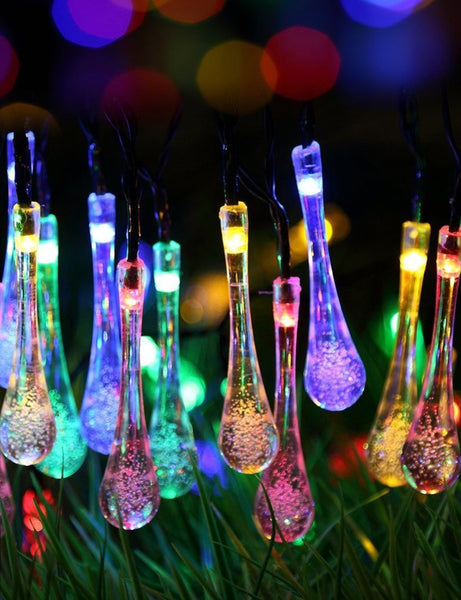 solar string decoration lights
