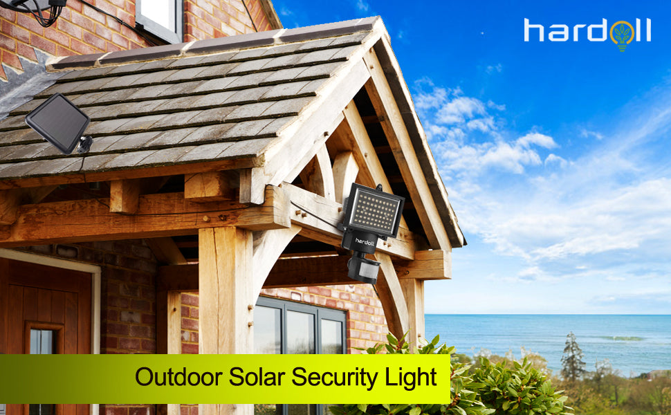 automatic solar motion sensor lights