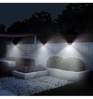 Hardoll 24 LED Solar Lights for Home Garden Outdoor Lamp