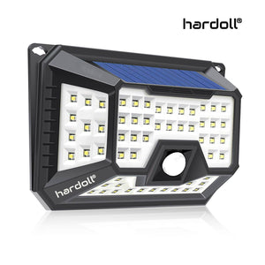 hardoll 66 led solar lights for home garden wall waterproof outdoor solar lantern (Refurbished)