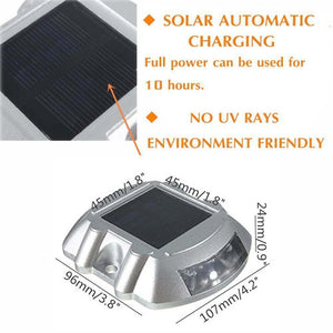 Hardoll Solar Road stud for home and garden pathway driveway