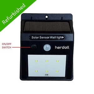 Hardoll 6 LED Solar Lamp Outdoor Motion Sensor Security waterproof lights for Home Garden Wall (Refurbished)