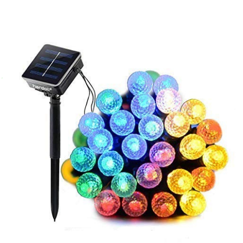 Hardoll Solar Lights for Home String Lights 30 LED Decorative Figured Ball for Garden, Party,Holiday,Indoor,Outdoor Waterproof(Refurbished)