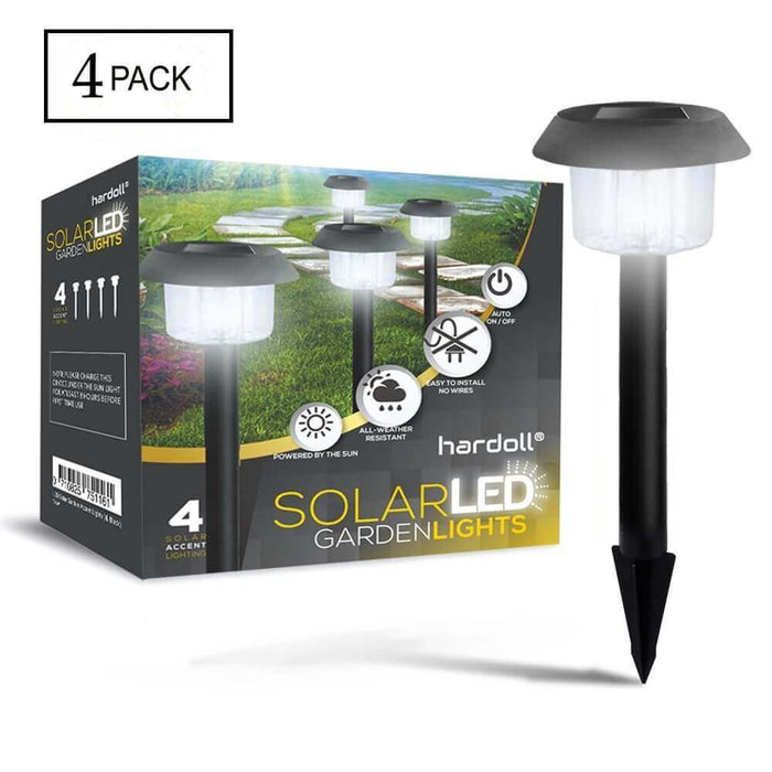 Hardoll Solar Waterproof Path Lights For Garden, Home, Decoration, Outdoor (PACK OF 4)
