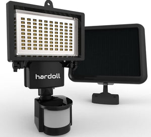 Hardoll 90 LED Solar Motion Sensor flood lights for Home Garden Wall outdoor (Refurbished)