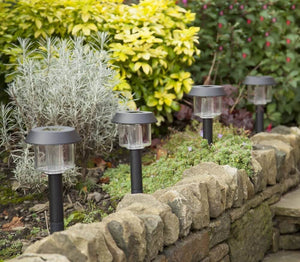 Hardoll Solar Waterproof Path Lights For Garden, Home, Decoration, Outdoor (PACK OF 4)- Warm white