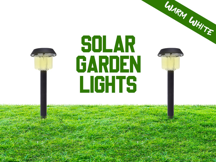 Hardoll Waterproof Solar Path Lights For Garden, Home, Decoration, Outdoor -Warm white