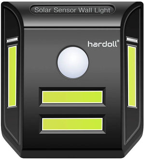 Hardoll COB LED Solar motion sensor light for home garden and outdoor