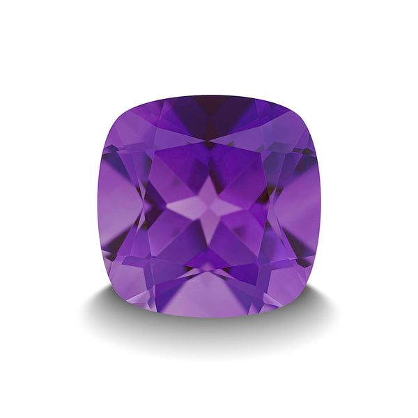 AMETHYST 5CT CUSHION CUT