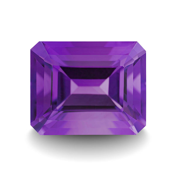 AMETHYST 5CT EMERALD CUT