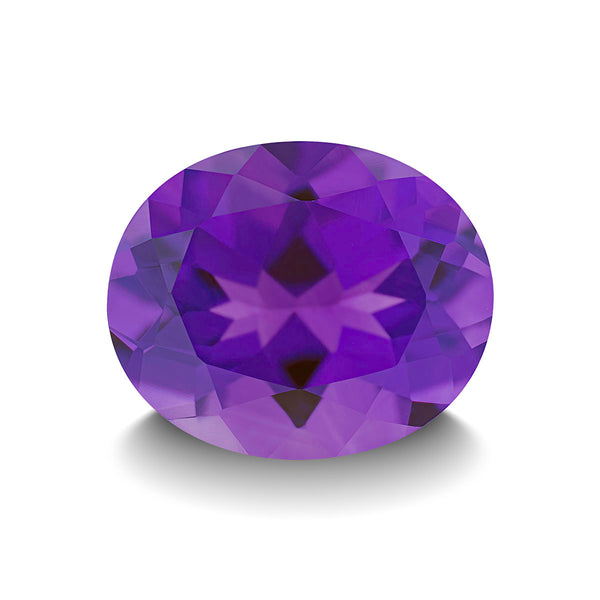 AMETHYST 5CT OVAL CUT